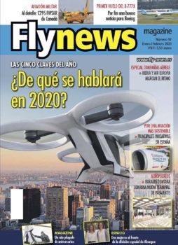 Dedicamos nuestra portada a los taxis aéreos autónomos, uno de los temas clave para 2020.