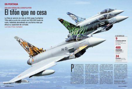 El Eurofighter ha demostrado repetidamente sus cualidades en operaciones reales.