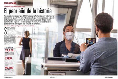 Pérdidas históricas en las aerolíneas europeas por el COVID-19.
