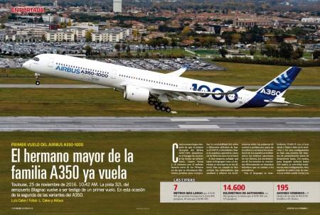 Airbus ofrece con el A350-1000 44 asientos más que con la serie 900 y el mismo alcance.