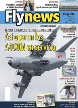 La portada del núemro 87 de Fly News está dedicada al Airbus A400M.