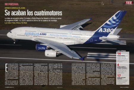 Repasamos la historia del Airbus A380 ante la noticia del fin de su producción.