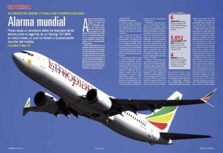 Dos accidentes han puesto en jaque al producto estrella de Boeing, el 737 MAX.