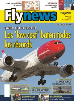 Norwegian, que acaba de anunciar vuelos de Barcelona a Estados Unidos preside nuestra portada dedicada al auge de las aerolíneas low cost.