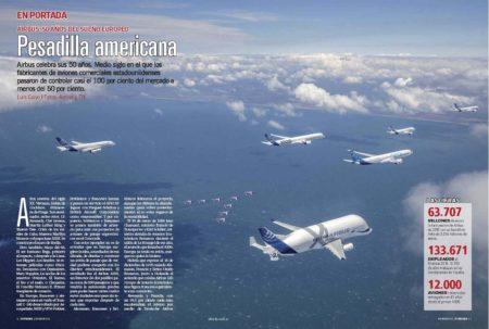 Airbus siempre se ha caracterizado por su espíritu innovador a lo largo de sus 50 años.