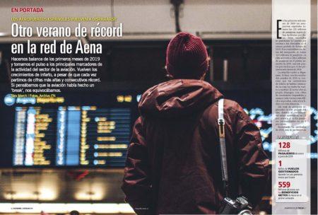 Nueva temporada récord para los aeropuertos españoles.