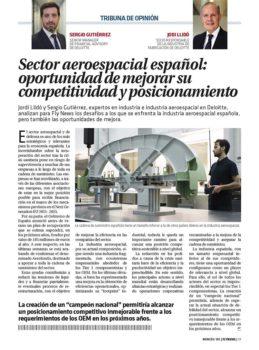 Nuevas oportunidades para la industria aeroespacial española.