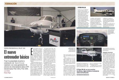 El Piper Pilot, nuevo modelo de escuela low cost.
