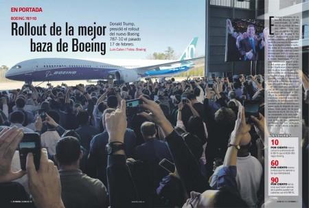 El Boeing 787-10 podrá transportar a 330 pasajeros en dos clases, 40 más que el B-787-9.