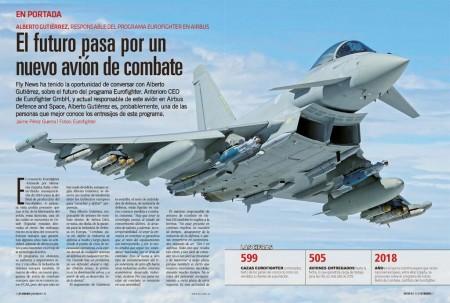 """""""Un elemento de mayor preocupación son los perfiles de ingeniería que se requieren para, cuando llegue el momento, lanzar otro avión de combate"""" nos cuenta Alberto Gutiérrez sobre el futuro de la industria de la aviación de combate europea."""