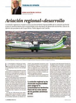 La conectividad es vital para un territorio. El archipiélago Canario es buen ejemplo de ello.