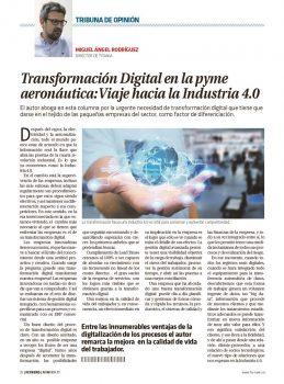 Entre las innumerables ventajas de la digitalización de los procesos el autor remarca la mejora en la calidad de vida del trabajador.