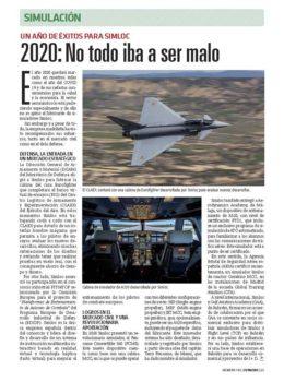La empresa española Simloc crece de forma importamte en el segmento de los entrenadores militares.
