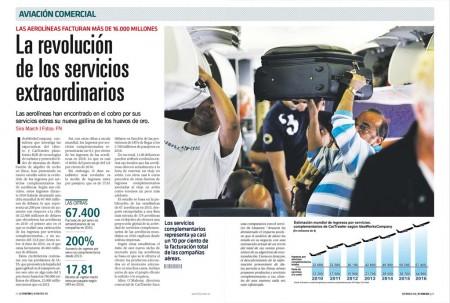 """""""Qué los pasajeros paguen sólo por los servicios que deseen"""" es el mantra de las aerolíneas para cobrar por lo que siempre estuvo incluido en el precio del billete."""
