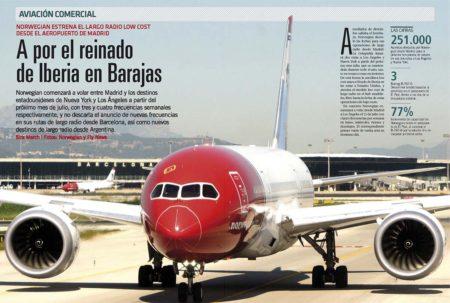 Si IAG replicó a los vuelos de largo radio de Norwegian desde Barcelona con Level, está ha respondido a estos y a los de París volando desde Madrid.