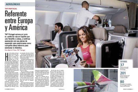 TAP Portugal ha apostado por la compelta renovación de su flota y de su oferta comercial.