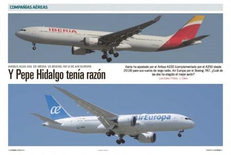 Iberia y Air Europa compiten con sus aviones más nuevos en la ruta de Madrid a Miami.
