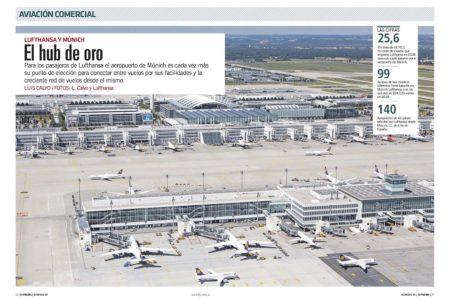La terminal 2 del aeropuerto de Munixh y su satélite han sido costeadas por Lufthansa y el propio aeropuerto.