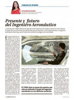 La ingeniería aeronáutica debe adaptarse a los avances tecnológicos.