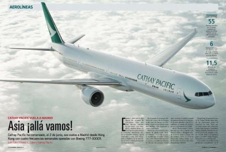 El boom asiático llega a España. En pocas semanas tres aerolíneas han comenzado a unir nuestro país con China.