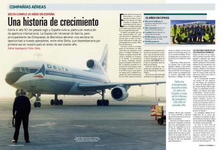 Delta comenzó a volar a España con los L-1011 TriStar hace ahora 25 años.
