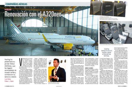 Vueling apuesta por una renovación de sus servicios y nuevas tarifas con la llegada de sus Airbus A320neo.