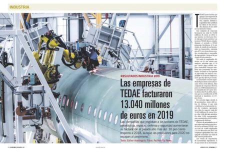 Buenos resultsdos en 2019 pero, como es lógico, mucha prudencia para este 2020 entre las empresas asociadas en TEDAE.