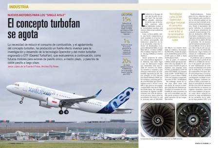 La necesidad de lograr motores de aviación con menor consumo ha llevado a desarrollar nuevas tecnologías, y a desenterrar algunas abandonadas.