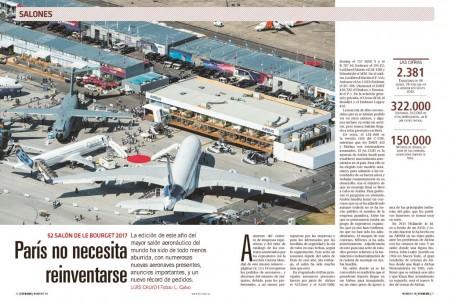 Airbus y Boeing han vuelto a ser la estrella del salón de Le Bourget, con el permiso de Embraer y Mitsubishi.