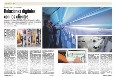 Airbus ha digitalizado sus relaciones con los clientes.