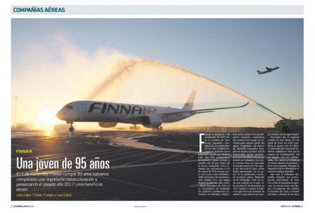 Finnair ofrece Helsinki como un gran centro de conexiones entre Europa, América y Asia.