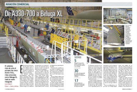 Cinco Airbus A330 serán modificados a Beluga XL a lo largo de cinco años.