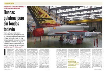 España se ha comprpometido con Airbus a la adquisición de más de 80 aeronaves de ala fija y rotatoria a lo largo de los próximos años.