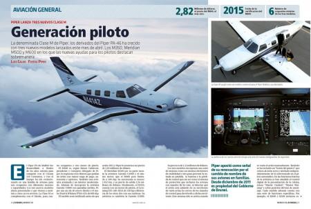 La familia de monomotores Piper PA-46 crece con tres nuevas versiones.