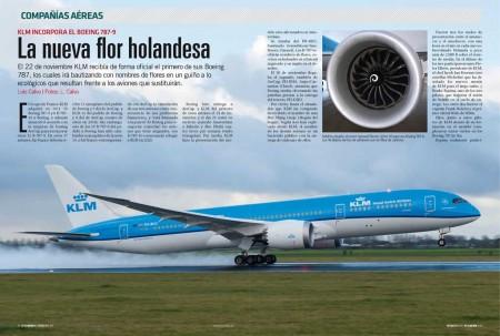 KLM es la primera aerolínea de Europa continental en operar el Boeing 787-9.