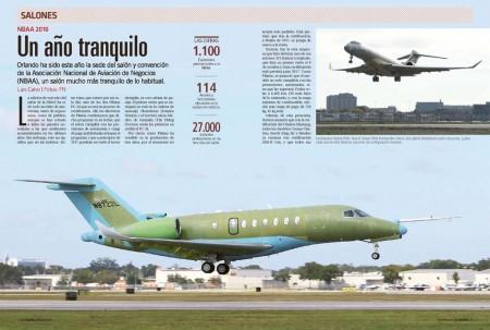 El Cessna Citation Longitude ha sido uno de los nuevos aviones presentados en el salón de la NBAA de este año.