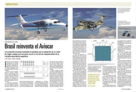 El ATL-100 todavía está lejos de hacer su primer vuelo, pero DASAER estima un mercado de 2.000 aviones de sus características en 20 años.