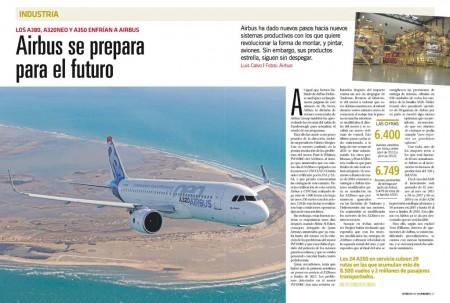 Airbus se enfrenta a nuevos retos industriales y comerciales.