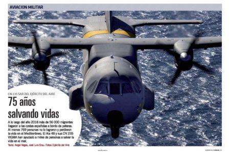 El CASA CN-235 VIGMA ha permitido al Ejército del Aire sumar capcidades que antes no tenía.