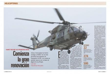 El NH90 está llamado a sustituir a los Super Puma entre otros modelos en los tres ejércitos españoles a lo largo de los próximos cinco años.