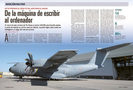 Para el Ejército del Aire español incorporar el A400M a su flota suponfrá un importante salto tecnológico respecto a los aviones de transporte que usa actualmente.