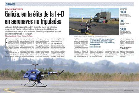 Galica, con la Civil UAVs Iniciative, lanzada en 2015, se ha situado como uno de los principales polos europeos en el desarrollo de aeronaves no tripuladas.