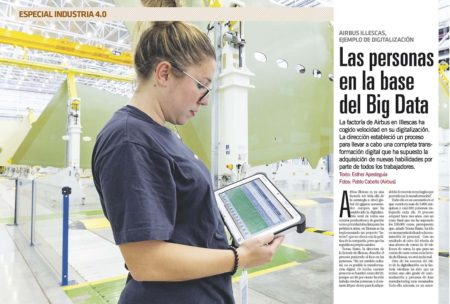 La factoría de Illescas de Airbus es un gran ejemplo de como llevar a cabo la transformación digital.