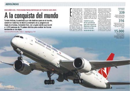 España es uno de los países con más miembros en Corporate Club, el programa de viajes de empresa, de Turkish Airlines