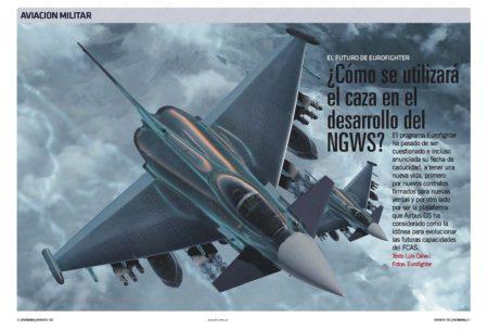 El Eurofighter sumará nuevas capacidades, algunas de las cuales pasarán después al NGWS.