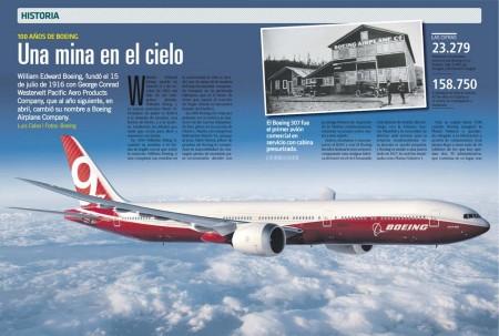 La falta de repuestos de su avión llevó a William Boeing a crear su propia empresa para construirse uno mejor y sin ese problema.