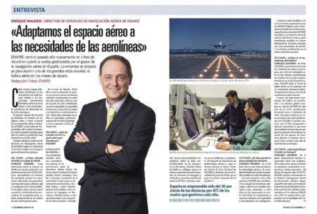 Enrique Maurer nos explica como hará Enaire para evitar nuevos caos aéreos en el verano.
