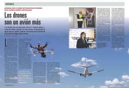 Cómo lograr la integración de los drones con los aviones con seguridad sigue siendo tema de debate encontrado.