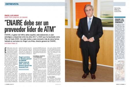 ENAIRE se está preparando para el crecimiento del tráfico aéreo en España en un 16 por ciento en cuatro años.