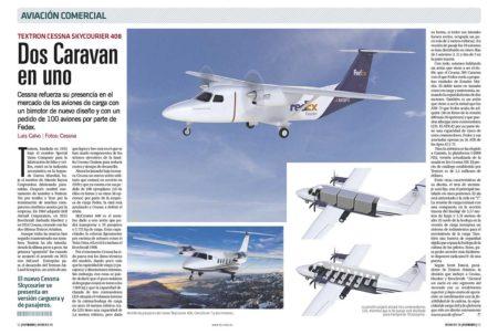 Fedex es el primer cliente confirmado del nuevo Cessna 408.